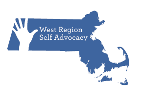 Massachusetts West Region Self Advocacy logo